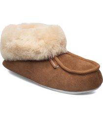 moa slippers tofflor brun shepherd