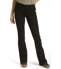 pantalon flare negro rockford