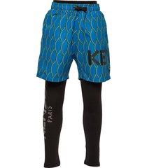 aktion2-8 legging blauw kenzo