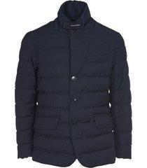 woolrich blue luxe blazer