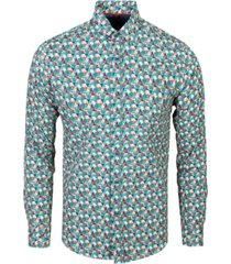 overhemd all over geometrische print