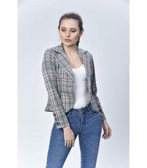 chaqueta blazer dama rosado di bello jeans  classic jackets ref c077