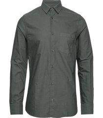 m. tim oxford shirt skjorta business grå filippa k