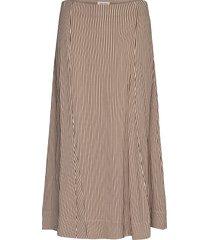 dilanipw sk knälång kjol brun part two