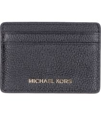 michael kors money pieces pebbled leather card holder