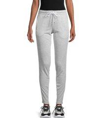 alala women's volt melange sweatpants - silver melange - size s