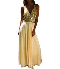 vestido dorado soya ona