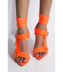 akira cape robbin got to be real open toe strappy stiletto