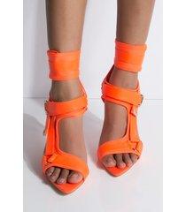 akira cape robbin got to be real open toe strappy stiletto