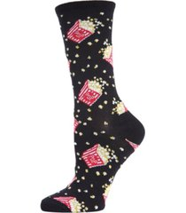 memoi women's popcorn crew socks