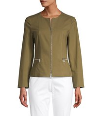 noel cotton stretch jacket