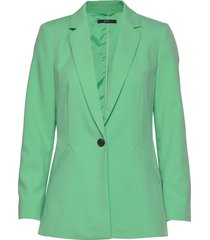 blazers woven blazer colbert groen esprit collection