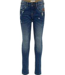 regular fit jeans distressed details