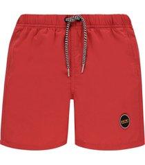 shiwi jongens zwembroek - solid mike rood-128