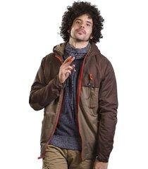 chaqueta brahma hombre café chq0023-cta