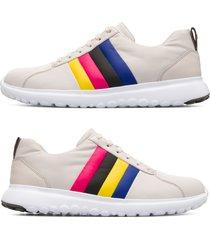 camper twins, sneaker uomo, beige , misura 46 (eu), k100500-005