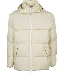 bottega veneta frosted popeline puffer jacket