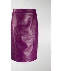saint laurent high-waist pencil skirt