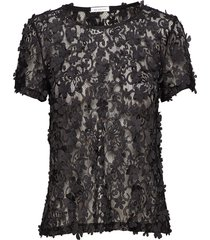 biscotti top blouses short-sleeved svart ida sjöstedt