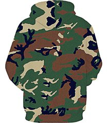 new fashion men/women 3d hoodies cartoon hooded sweatshirts with caps camouflage
