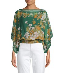 botanical-print top
