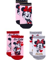 socks by x3 night & underwear socks multi/mönstrad disney
