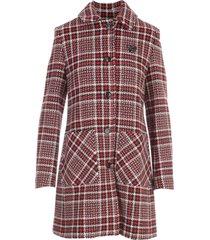 love moschino tartan coat