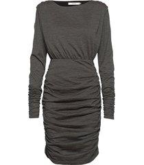iljagz dress ye20 knälång klänning svart gestuz