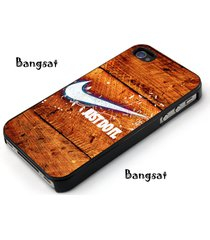 nike wood just do it for iphone 4 5 5s 6 6plus 7 7plus se samsung htc case