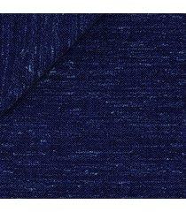 pantaloni da uomo su misura, vitale barberis canonico, lana seta blu, quattro stagioni | lanieri