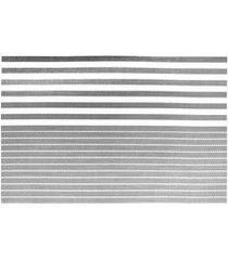 jogo americano textilene 45x30cm casual cinza