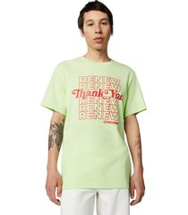 camiseta converse renew graphic