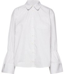 marillo overhemd met lange mouwen wit baum und pferdgarten