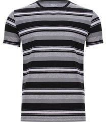 camiseta preteñida a rayas