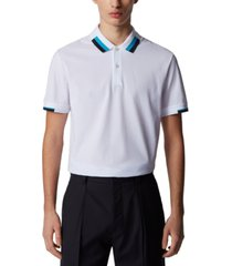 boss men's parlay 66 regular-fit polo shirt