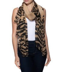 inc international concepts wild animal wrap scarf, created for macy's