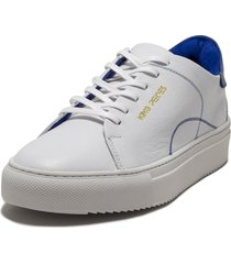 tenis blanco con azul viola lourdes 2