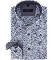 casa moda overhemd button down boord print