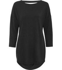 maglia con scollo a cascata sulla schiena (nero) - bodyflirt
