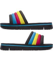 camper twins, sandalias mujer, negro/amarillo/azul, talla 42 (eu), k200905-001