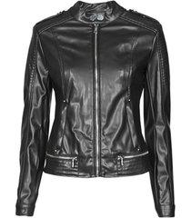 leren jas guess new tammy jacket