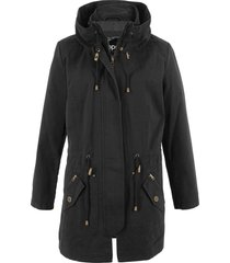 parka corto in cotone (nero) - bpc bonprix collection