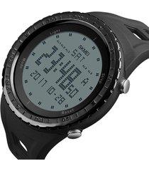 reloj deportivo digital militar skmei 1246 impermeable negro