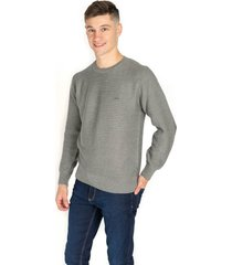 sweater gris pato pampa