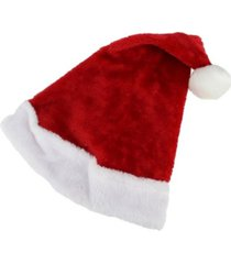 northlight santa unisex adult christmas hat costume accessory-medium