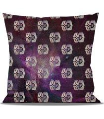 tie fighter star wars galaxy pattern fleece cushion