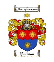 pearson family crest / coat of arms jpg or pdf image download