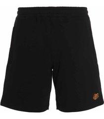 kenzo tiger crest shorts