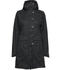 bjerke 3in1 lady coat parka lange jas jas groen bergans