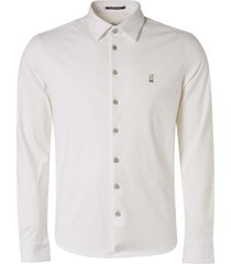 no excess shirt jersey stretch white
